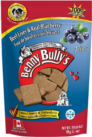 Benny Bullys® Liver Plus™ Blueberry Dog Treats